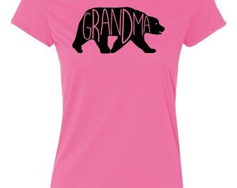 Grandma Bear - Ladies' T-shirt
