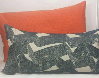 Rectangular Urban Denim Cushion Cover.