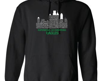 Philly Skyline Champs Hoodie