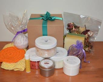 Custom Spa Gift Set, Choose Your Items, Birthday Gift, Gift for Her, Valentine's Day Gift, Gift for Mom, Gift For Girlfriend, Pregnancy Gift