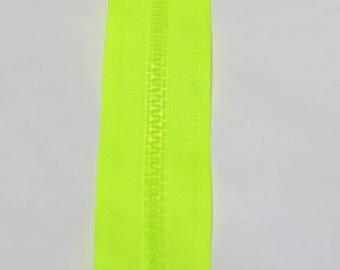 NEON yellow zipper 35 cm