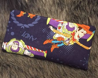 Toy story checkbook cover