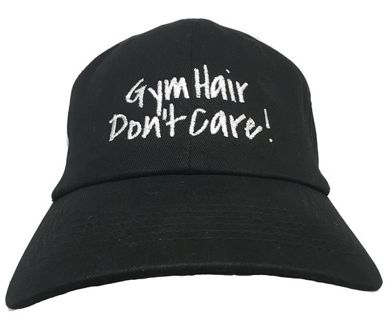 Gym Hair Don't Care (Polo Style Ball Various Colors with White Stitching)