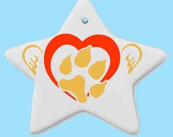 custom made companion or memorial dog ornaments