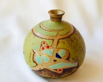 ART POTTERY miniature JUG Vase