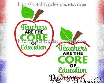 Text cutting file Teacher, in Jpg Png SVG EPS DXF, for Cricut & Silhouette, teacher svg, apple svg, cricut svg, education svg, school svg