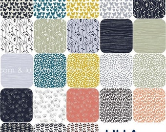 ON SALE LILLA by Lotta Jansdotter for Windham Fabrics  -  Fat Quarter Bundle - 23 Prints