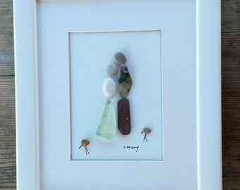 Pebble art couple new, Couple pebble art, Couple unique gift, Love gift, anniversary gift, Birthday gift, holiday gift, wedding gift, 3d art