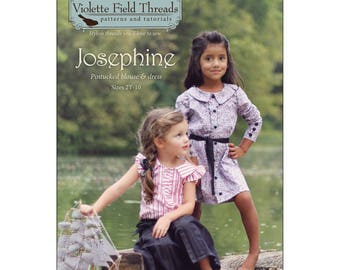 PATTERN - Josephine by Violette Field Threads