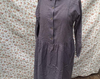 Blue checkered Laura Ashley dress