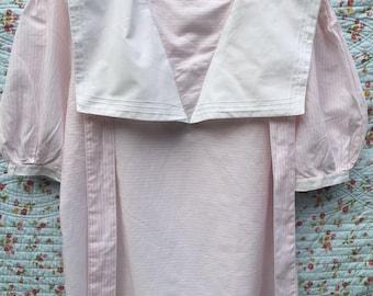 Vintage sailor blouse by Laura Ashley