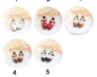 Blythe JerryBerry Azone Dal Pullip T-shaped Leather Shoes