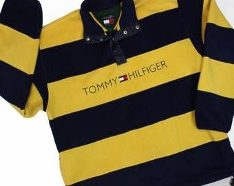 Tommy Hilfiger Striped fleece jacket