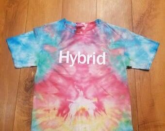 Hybrid tie dye tshirt