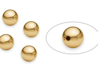 1 Pc 10 mm 14K Gold Filled Round Bead Seamless (GF520110)