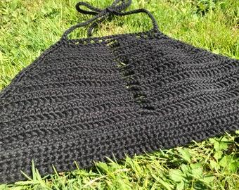 Custom 'Holy Grail' crochet top