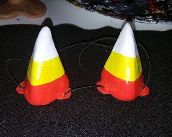 Candy Corn Halloween Horns