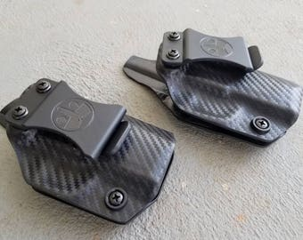 """Springfield XDS 3.3""""-Custom Kydex IWB Holster for Springfield xds 3.3"""". Hand Made in the USA"""
