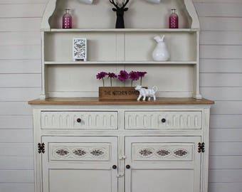 NOW SOLD *** Hand Painted, Dutch Dresser, Sideboard, Kitchen Dresser,
