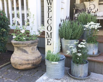 Welcome Sign   Front Porch Decor   Front Porch Sign   Welcome Porch Sign    Rustic