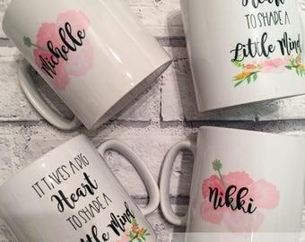 Personalised teacher mug - preschool teacher gift. Birthday present, chistmas present. School leaving present
