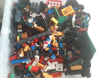 15+ Pounds of LEGO parts & figures Including Playmobil # 5757 Castle from 15+ complete sets - Great Condition!
