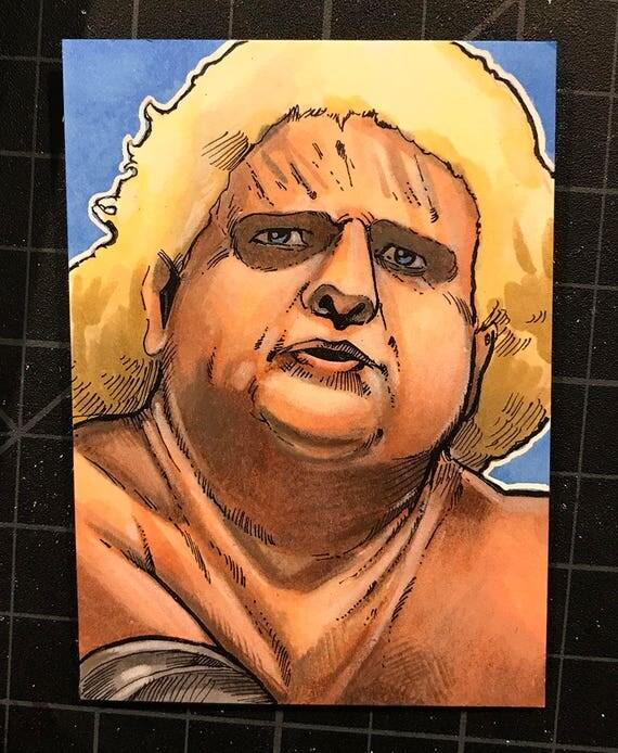 Sketch Card: Dusty Rhodes