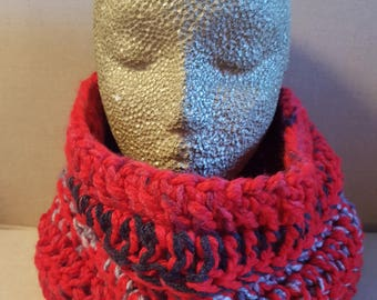 Crochet cowl, Crochet scarf, Crochet infinity scarf, cowl, cowl neck, winter, ready to ship, handmade scarf