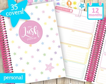 My Lush Planner (Personal edition) - undated A5 / A4, Diary, Organiser, 12 months