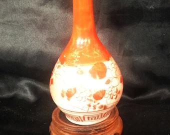 A beautiful Kutani, Japanese porcelain vase