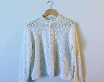 60s Cardigan/Size Medium