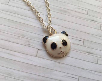 Panda Necklace, Panda Jewellery, Wildlife, Animal Necklace, Gift for Friend, Birthday Gift, Gift for Her, Animal Jewellery