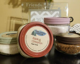 Natural Sugar Scrubs