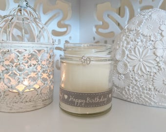 50 Happy Birthday Scented Jar Candle