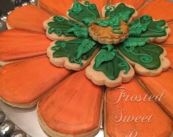 Pumpkin Platter - 20 cookies