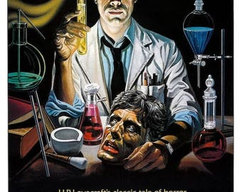 Back to School Sale: RE-ANIMATOR Movie Poster 1985 H.P. Lovecraft