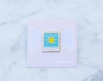 SUNNY 16 SERIES: F16 - for photography film analog lovers enamel pin