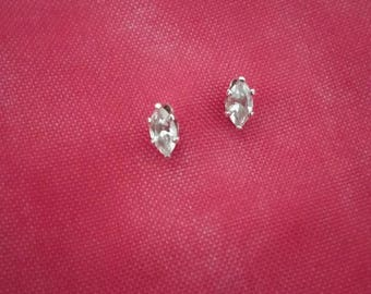 Sterling Silver and Cubic Zirconia Earrings