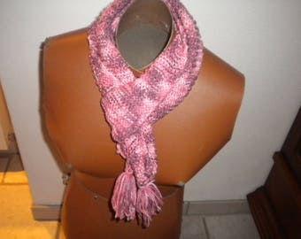 handmade girls wool bamboo scarf