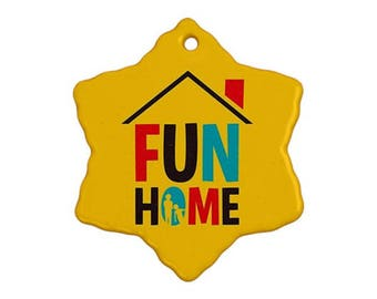 Fun Home Broadway Musical Christmas Ornament
