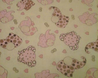 Debbie Mumm Nursery Baby  Fabric 2 Yards Cotton