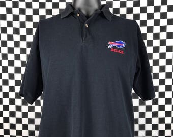 Buffalo bills shirt etsy for Buffalo bills polo shirts