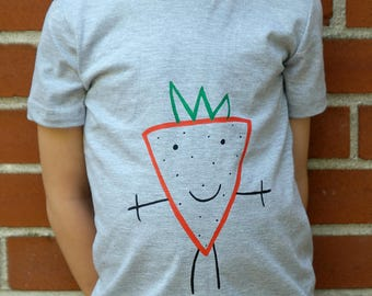 Kids unisex Miss Strawberry T-shirt/sweater