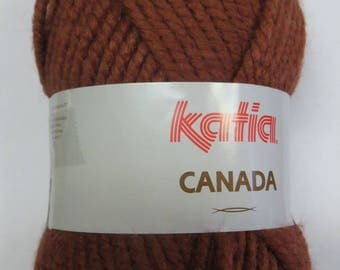 Wool Katia Brown Canada