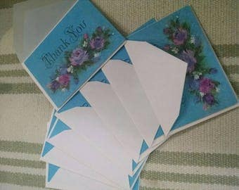 Lot of Beautiful 'Thank You' Hallmark Notecards with Envelopes
