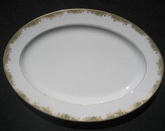 """Sango China-Japan Chaeau 14"""" Platter"""