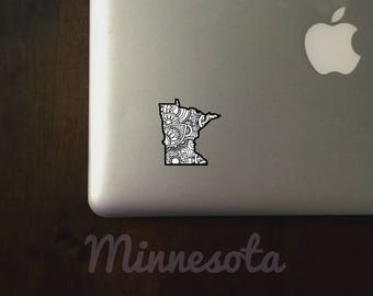 Minnesota State Sticker