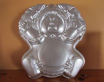 VINTAGE Cabbage Patch Kid   Cake Pan By Wilton  / VINTAGE Moule à Gateau Boutchoux / VTG Boutchoux Moule