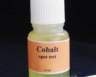 COBALT Spot Test Testing Kit Tester + manual
