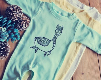 Winter romper, Baby yoga outfit, Gender neutral baby, New baby gift, Unisex romper, boho baby, boho jumpsuit, Hippie baby, READY TO SHIP
